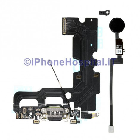 Connettore Ricarica per Ripristino Tato Home Nero iPhone 7 Chip Apple MFI