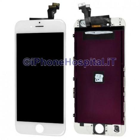 Vetro Touch Screen Lcd per iPhone 6 Bianco Compatibile Grado A