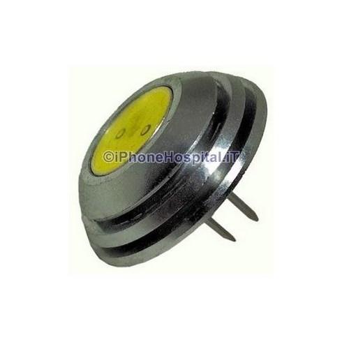 G4 1 5 w lampadina led luce bianca bottone 12v dc for Led luce bianca