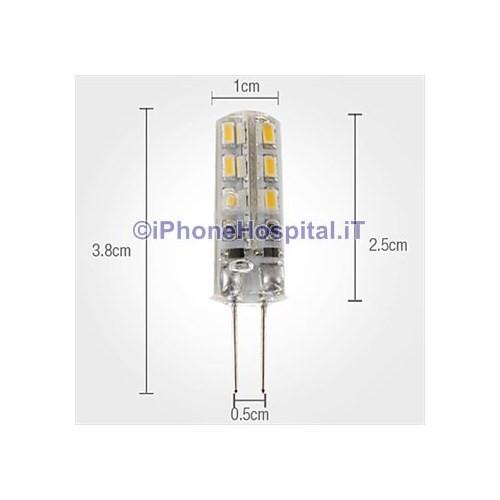 g lampadina : Home Lampadina LED a pannocchia luce bianca Naturale G4