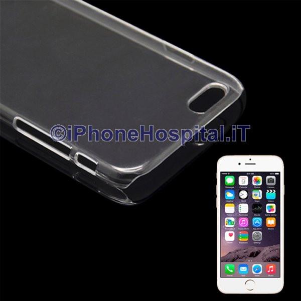 Custodia Rigida per iPhone 6 Plus e 6S Plus Trasparente