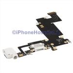 Connettore Ricarica Jack Cuffie Mic Flat Antenna Color Bianco iPhone 6S Plus