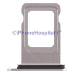 Slot Porta Sim Carrello Carrellino per Apple iPhone XS Max Bianco