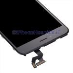 Vetro Touch Screen Touch Lcd Assemblato per iPhone 6S Plus Nero Grado A