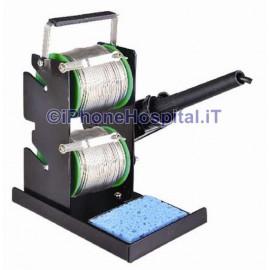 Porta Stagno e Stilo Doppio Dispenser Metallico Professionale