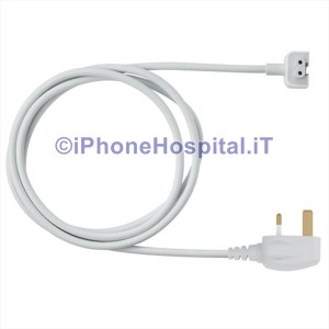 Cavo prolunga per alimentatore Apple Mac iPhone iPod iPad UK