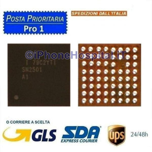Chip Ricarica U3300 SN2501A1 USB Charger IC Chip per Scheda Madre iPhone 8/8 Plus
