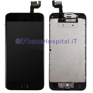 Vetro Touch Screen Lcd Assemblato per iPhone 6S Nero OEM