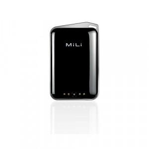 Batteria Esterna - MiLi Crystal color Nero