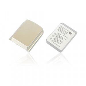 Batteria Interna più copribatteria rinforzato Silver per Qtek S100