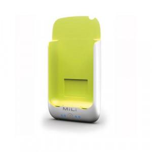 Batteria Esterna - MiLi Power Pack per iPhone color Bianco/Verde