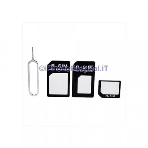 Kit Adattatori Sim Card 3 in 1