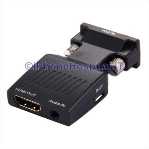 Adattatore Convertitore HDTV VGA a HDMI HD 1080P