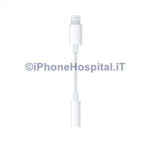 Adattatore lightning jack cuffie 3,5 mm per Apple per iPhone 7+7 Plus