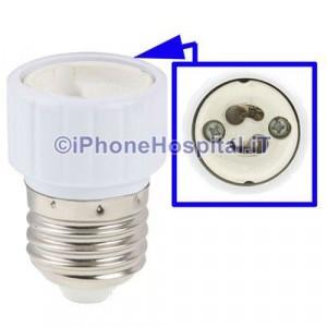 Adattatore per lampadine LED E27 a Gu10