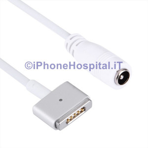 Adattatore Tipo MagSafe2+Connettore femmina per Macbook A1425 A1435 A1465 A1502