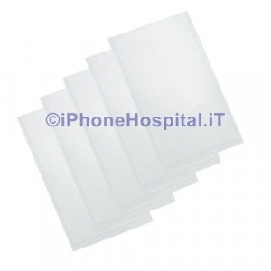 5 x Adesivo Oca 250µm per Apple Iphone 6 4.7 Foglio FILM Colla Uv