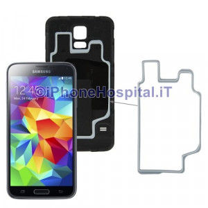 Anello Impermeabile Back Cover Hoop Ring per Samsung Galaxy S5 G900