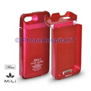 Batteria Esterna - MiLi™ Power Spring 4 Per iPhone 4 color fuxia