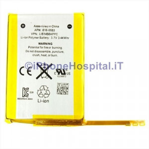 Batteria iPod Touch 4 generazione - A1367- 616-0553 - 616-0552