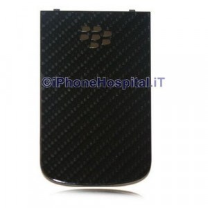 BlackBerry 9900 Bold Copribatteria posteriore Originale Nero