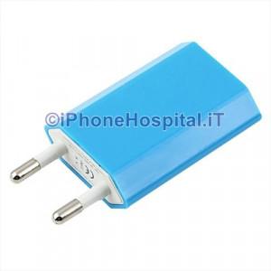Carica Batteria Per iPhone 6 5S 5C 5 4S 4 Azzurro Casa Muro Caricatore Charger