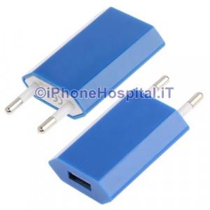 Carica Batteria Per iPhone 6 5S 5C 5 4S 4 Blue Casa Muro Caricatore Charger