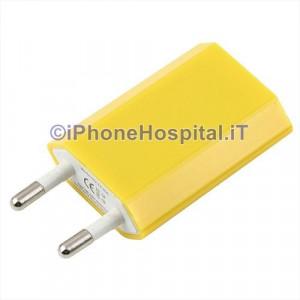Carica Batteria Per iPhone 6 5S 5C 5 4S 4 Giallo Casa Muro Caricatore Charger