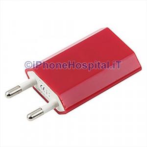 Carica Batteria Per iPhone 6 5S 5C 5 4S 4 Rosso da Casa Muro Caricatore Charger