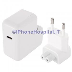 "Caricatore per Apple Macbook 12"" Retina Early 2015  (Spina Europea) Caricabatteria"