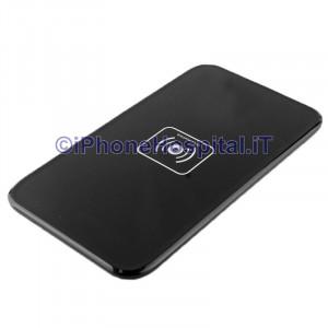 Caricatore Wireless per iPhone X /8 / 8 Plus / 5S /Samsung Nero