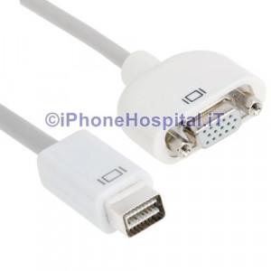 Cavo Adattatore Mini DVI-VGA per Mac Imac MacBook