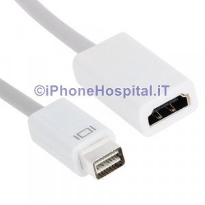 Cavo Adattatore Mini DVI a HDMI per Macbook Pro