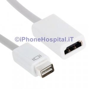 Cavo Adattatore Mini DVI a HDMI per Macbook Pro