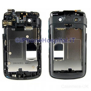 Chassis Retro Cover per Blackberry 9700 Bold Nero