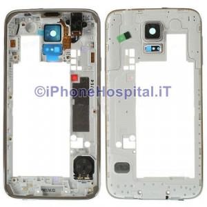 Chassis Retro Cover Medio Oro per Samsung Galaxy S5 i9600 G900F