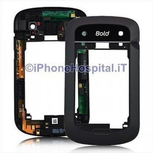 Chassis Retro Cover per Blackberry 9900 - 9930 Assemblato
