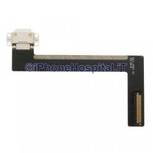 Connettore di Ricarica e Flex per iPad Air 2 Colore Bianco