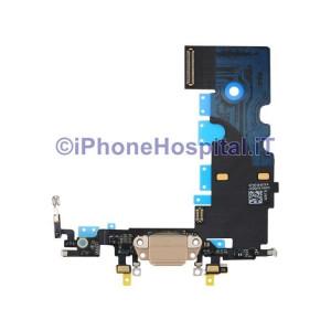 Connettore Ricarica Jack Cuffie Microfono Antenna Oro ( Gold ) per iPhone 8