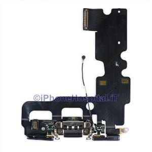 Connettore Ricarica Jack Cuffie Microfono Flat Antenna Colore Bianco iPhone 6