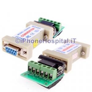 Convertitore Adattatore & Drivers RS-232 a RS-485
