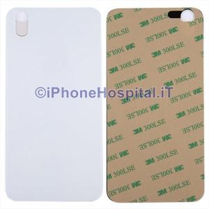 Copertura Posteriore Coperchio Retro della Batteria in Vetro per Apple iPhone X Bianco