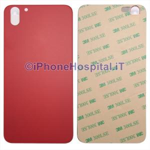 Copertura Posteriore Coperchio Retro della Batteria in Vetro per Apple iPhone X Rosso