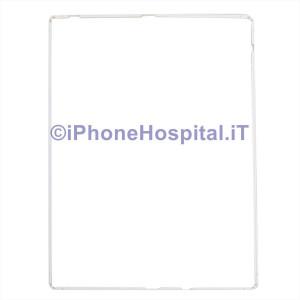 Cornice Touch Bordino Bezel Bianco per iPad 2 / 3 / 4 con Colla