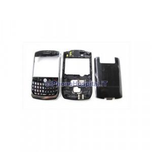 Cover Completa per Blackberry 8900 Curve Nero