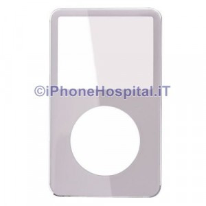 Cover Frontale Color Argento ( Silver ) per Apple iPod Video 5 Generazione A1136