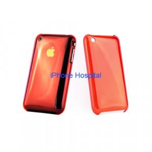 Color case  Rosso trasparente