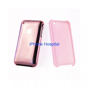 Color case Rosa trasparente per iPhone 3G/3GS