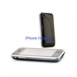 Color case Nero con bordo trasparente per iPhone 3G/3GS