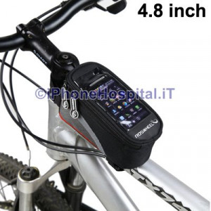 Custodia con Supporto Bicicletta iPhone 5 /4S / Lumia 920 Samsung i9300